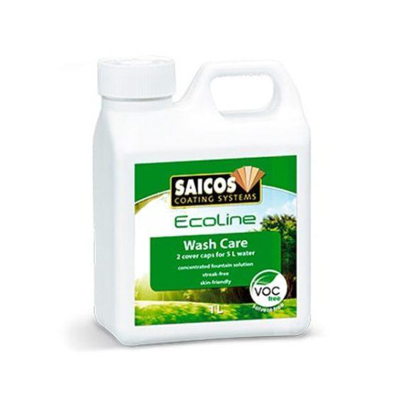 Чистящий концентрат для влажной уборки паркета Saicos Ecoline Wischpflege