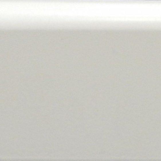 Плинтус белый прямой 100 МДФ