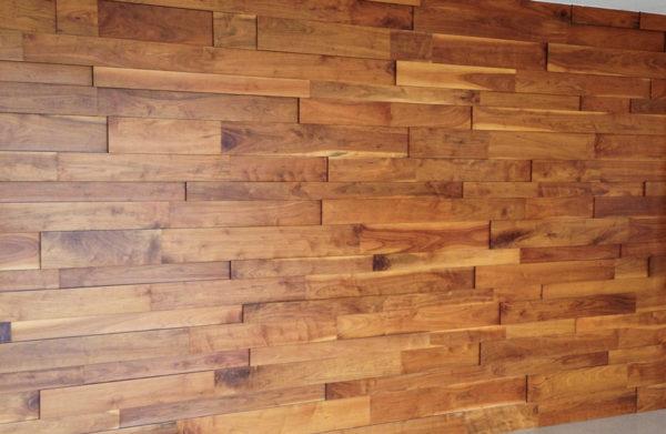 Стеновая панель из массива дуба Оптимавуд
