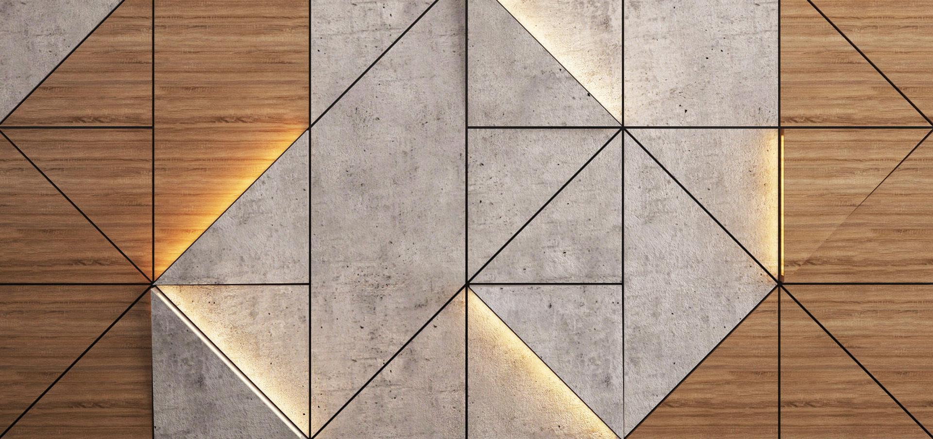 Стеновые панели из МДФ шпон, Валхромат, Вирок